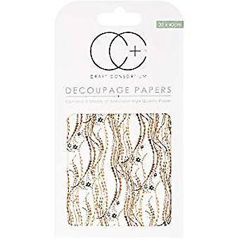 Craft Consortium Decal Decoupage Papers 9CCXDECP022)