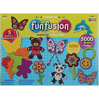 Perler Fuse Bead Value Activity Kit Fun Fusion Creative Kid 56944