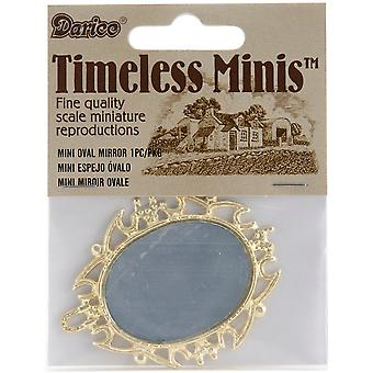 Timeless Miniatures Oval Mirror 2314 07