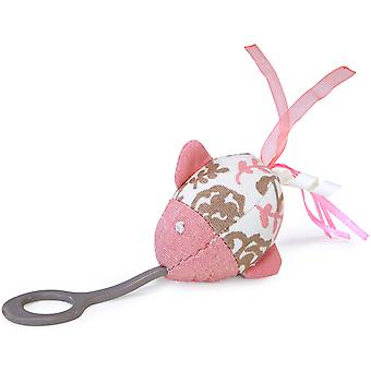 Loved Ones Stretch & Chase Catnip Fish Launcher-Pink 81007