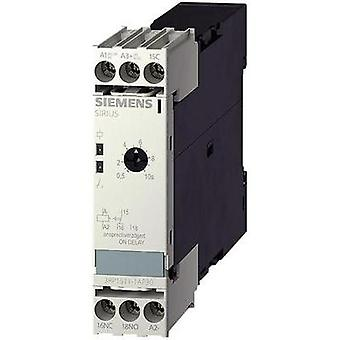 Siemens 3RP1511-1AP30 Time Delay Relay, Timer, 1 Chaneover + LED 24 V DC/AC/200 - 240 Vac IP40, IP20