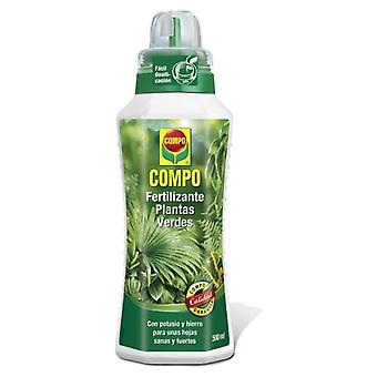 Compo Fertilizer Plants Green 500Ml (Garden , Gardening , Substratums And Fertilizers)