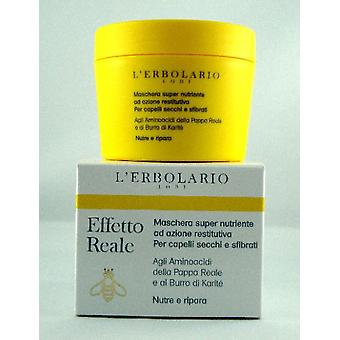 L'erbolario Real Effect Nourishing Mask Repair