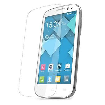 2 x Alcatel One Touch Pop C5 Displayschutzfolie 9H Verbundglas Panzerglas Tempered Glas