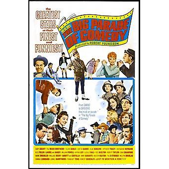 Den store paraden av komedie film plakat (11 x 17)