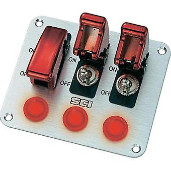 SCI R18-P3A 20A Operating Panel Toggle Switch, 12Vdc