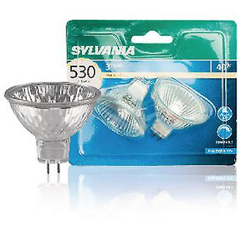 Sylvania indenlandske Mr16 pære 50 mm og 40W GU5.3 Bl2