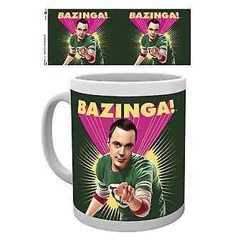 A teoria do Big Bang Sheldon Bazinga caneca