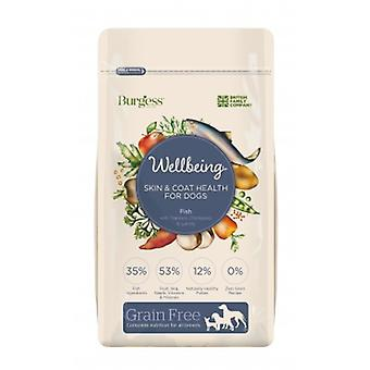 Burgess Wellbeing Grain Free Skin & Coat Health Fish 10kg