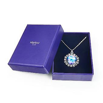 Jewel City Reason Galaxy Pendant Necklace