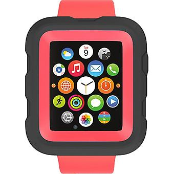 Griffin Survivor Case to 42 mm Apple Watch In Coral Fire