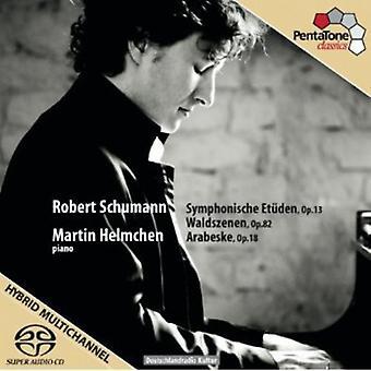 R. Schumann - Schumann: Symphonische Etuden, Op. 13; Waldszenen, Op. 82; Arabesk, Op. 18 [SACD] USA import