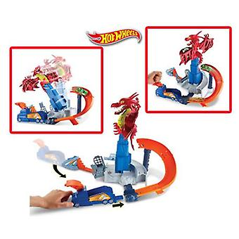 Hot Wheels Dragón Attack (Toys , Vehicles And Tracks , Parking And Circuits)