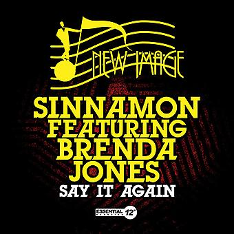 Sinnamon - Say It Again USA import