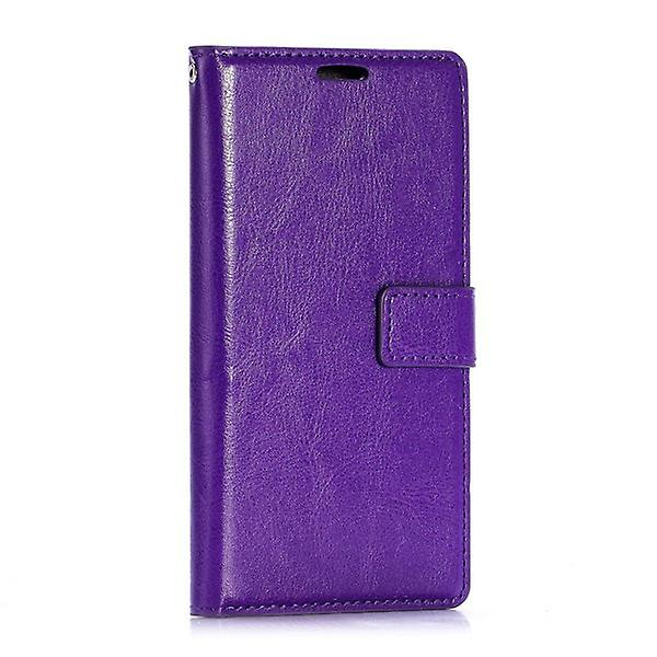 Pocket wallet premium purple for Huawei Ascend P8