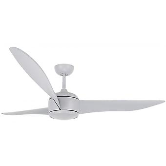 "Ceiling fan Nordic DC Grey 142cm / 56"" with remote control"