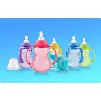 Nuby Pp - Narrow Mouth Bottle Colorful
