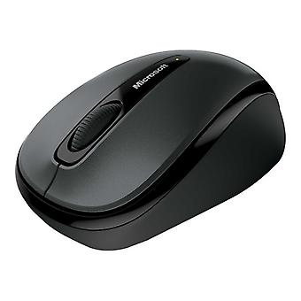 Microsoft Wireless Mobile Mouse 3500-Mouse-Optical-3 button-Wireless-2.4 GHz-USB wireless receiver-lochness-grey