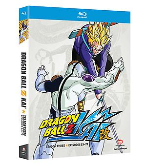Dragon Ball Z Kai: Season 3 [BLU-RAY] USA import