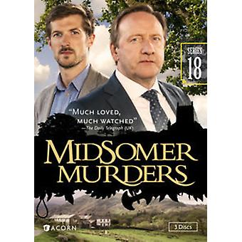 Midsomer Murders: Series 18 [DVD] USA import