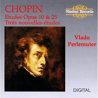 F. Chopin - Chopin: Etüden op. 10 & 25; Trois Nouvelles Tudes [CD] USA importieren