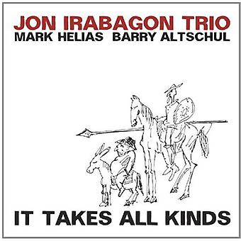 Irabagon/Helias/Altschul - det tager alle mulige [CD] USA import