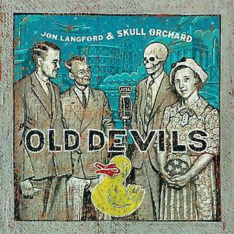 Jon Langford & Skull Orchard - Old Devils [CD] USA import