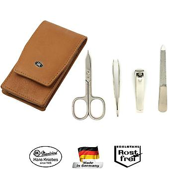Hans Kniebes Solingen Leather Manicure Set