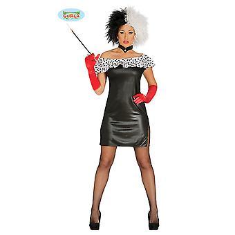 Cruela costume Cruelakostüm Dalmatians ladies