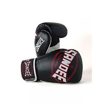 Sandee Cool-Tec Kids Muay Thai Boxing Gloves - Black