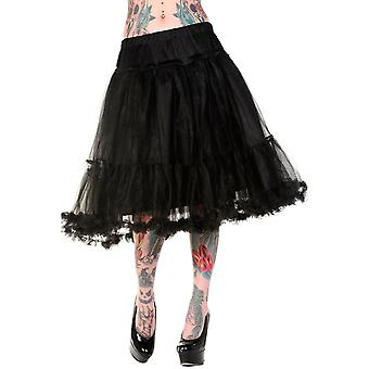 Banned Apparel Black Long Petticoat