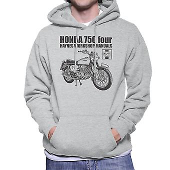 Haynes ejere Workshop Manual Honda 750 fire mænds hættetrøje