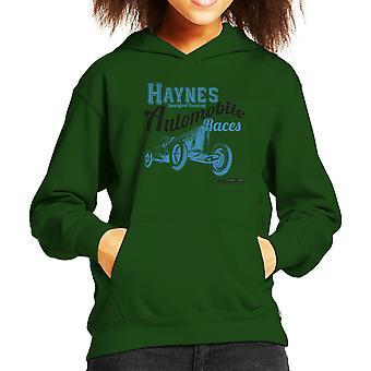 Haynes Marke Sparkford Raceway Rennen Kinder Sweatshirt mit Kapuze