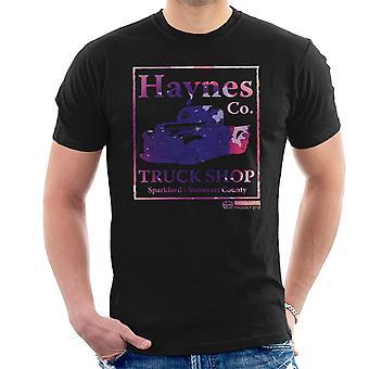 Haynes Brand Truck Shop Sparkford Pickup Men's T-Shirt
