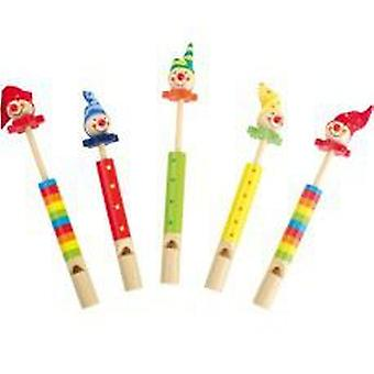 Legler Flutes  Clowns  (Toys , Educative And Creative , Music , Instruments)