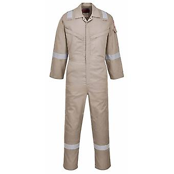 Portwest - Araflame Hi-Vis Safety Workwear Silver Coverall