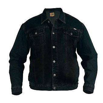 Duke Mens Western Trucker Style Denim Jacket