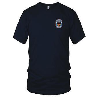 E.U. Marinha Richmond DLG-20 K. Turner bordada Patch - Mens T-Shirt