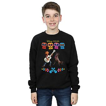 Disney Boys Coco Miguel Logo Sweatshirt