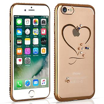 iPhone 7 Diamond Edge Case - guld