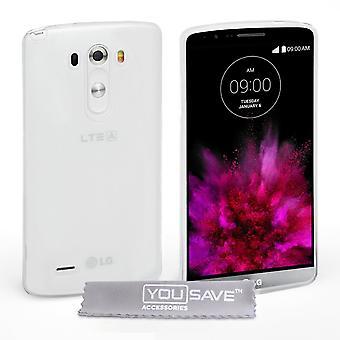 Yousave akcesoria LG G4 silikonowe żelu Etui - Clear