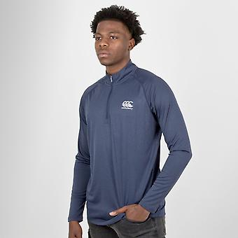 Canterbury Vapodri première couche 1/4 Zip Rugby formation Top