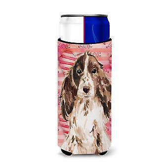 Brown Parti Love Michelob Ultra Hugger for slim cans