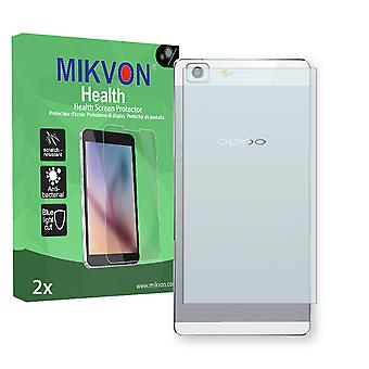 Oppo R5 reverse Screen Protector - Mikvon Health (Retail Package with accessories)