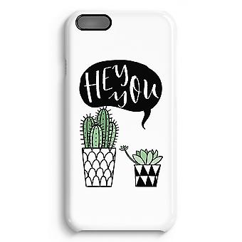 iPhone 6 Plus Full Print Case (Glossy) - Hey you cactus