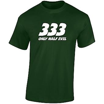 333 Half Evil Mens T-Shirt 10 Colours (S-3XL) by swagwear