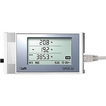 Lufft Temperature and humidity-Data logger for external sensors, recorder, 16 MB, 3,200,000 mea