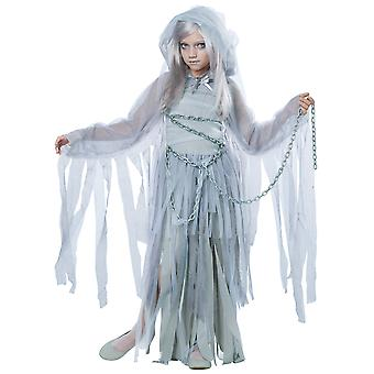 Haunting Beauty Ghost Bride Spirit Horror Halloween Dress Up Girls Costume
