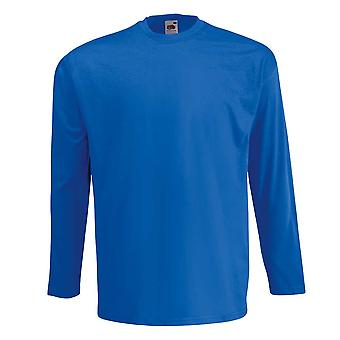Fruit of the Loom Valueweight Long Sleeved T Shirt