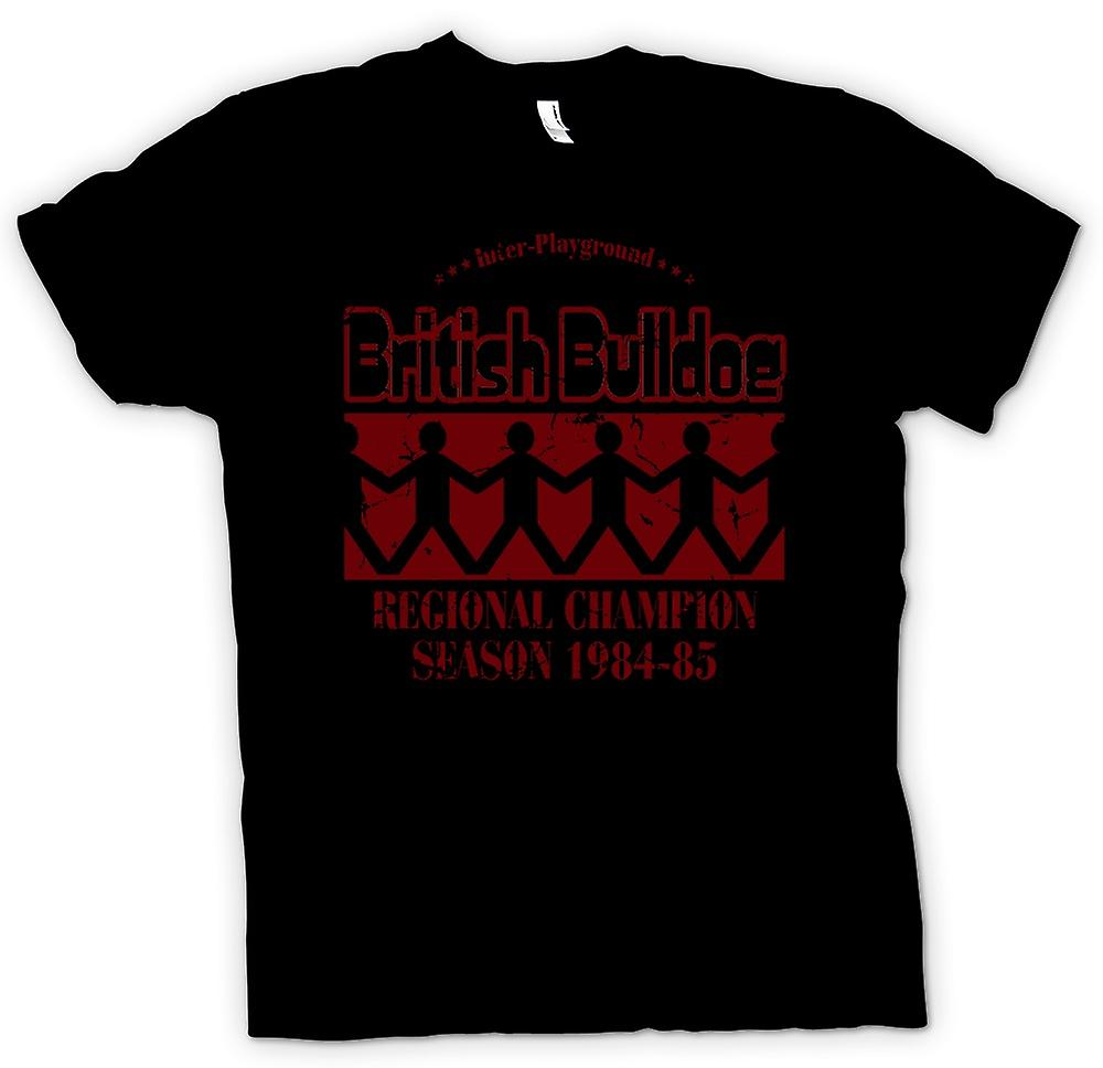 Heren T-shirt - British Bulldog Champion 84 5 - Funny